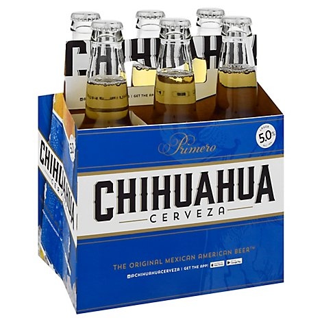 Chihuahua Cerveza El Primero Mexican Style Lager 6 Pack In Bottles - 6-12 Fl. Oz.