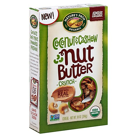 Natures P Cereal Ccnut Cshw Nut Btr - 10 Oz