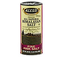 Alessi Himalayan Salt All Natural Premium Pink Fine - 24 Oz