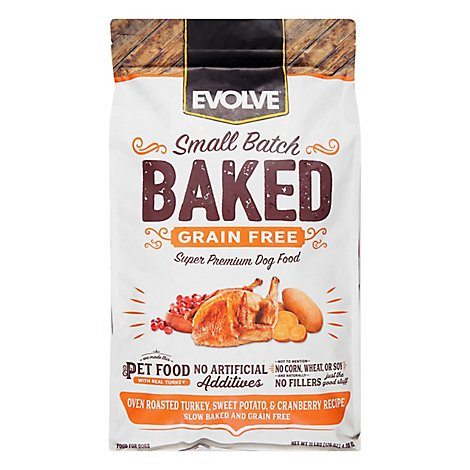Evolve Grain Free Turkey Sweet Potato & Cranberry Recipe - 11 Lb
