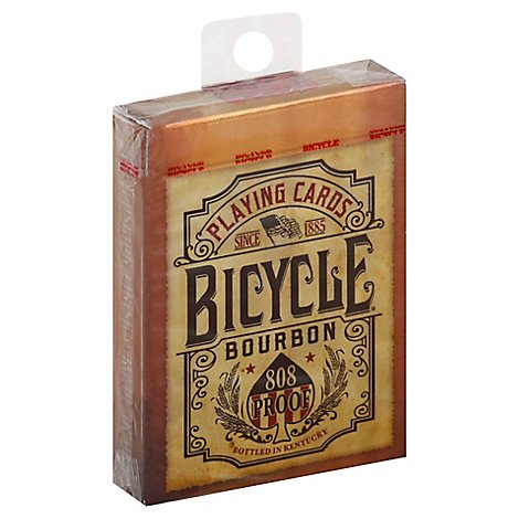 Bicycle Playing Cards Bourbon - Each
