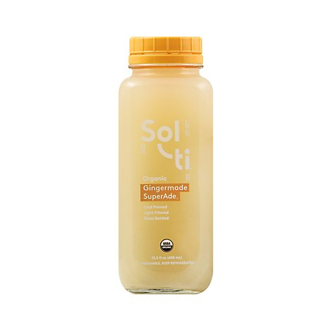 Sol-ti Organic SuperAde Gingermade - 15.5 Fl. Oz.