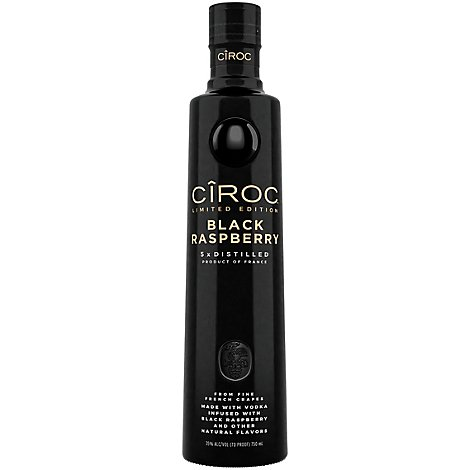 CIROC Vodka Black Raspberry 70 Proof - 750 Ml