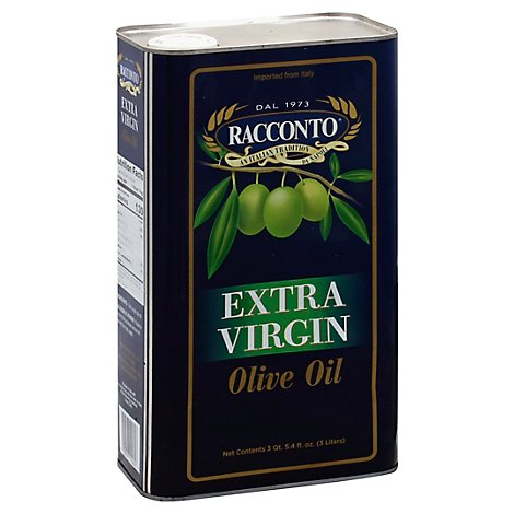 Racconto Extra Virgin Olive Oil - 3 Liter