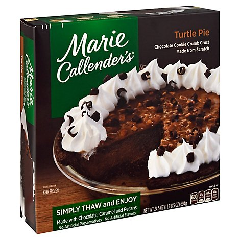 Marie Callenders Turtle Pie - 24.5 Oz