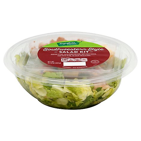 Signature Farms Salad Kit Southwestern Style - 11.75 Oz