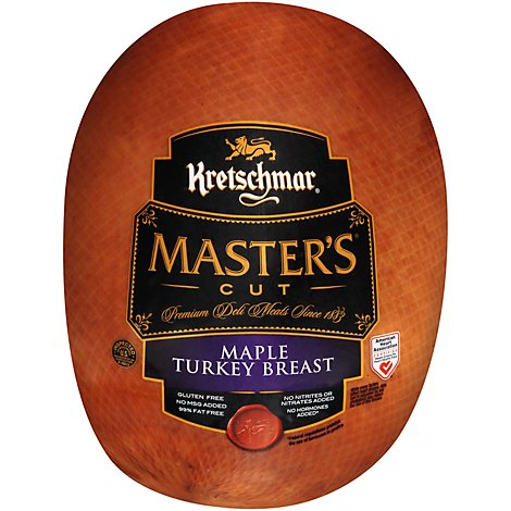 Kretschmar Master Cut Maple Turkey Breast - 0.50 Lb