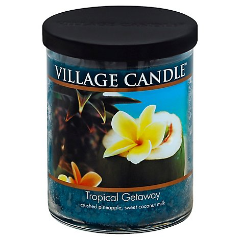 Village Candle Candle Tropical Getaway 18 Ounce - Each