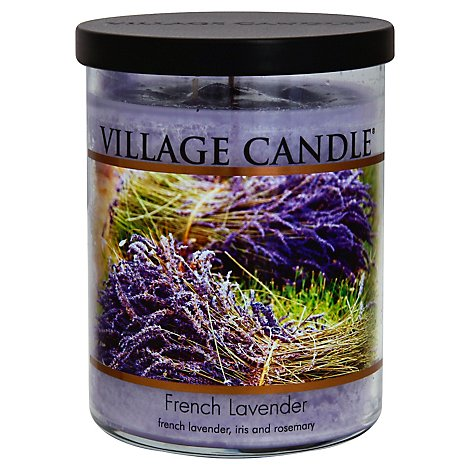 Village Candle Candle French Lavender 18 Ounce - Each