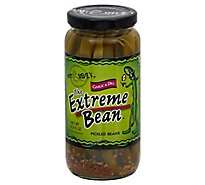 The Extre Bean Pickled Garlic N Dill - 16 Oz