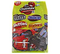Mars Candies Fun Size Assorted Chocolate Favorites & More 160 Count - 72.83 Oz