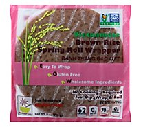 Star Anise Foods Spring Roll Wrapper Brown Rice Vietnamese - 8 Oz