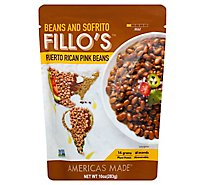 Fillos Beans Puerto Rican Pink - 10 Oz