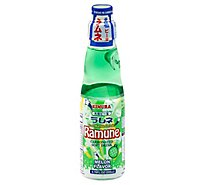Kimura Ramune Soft Drink Carbonated Melon - 6.76 Fl. Oz.