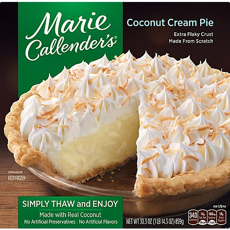 Marie Callenders Pie Coconut Cream - 30.3 Oz