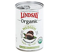 Lindsay Organic Medium Black Ripe Olives - 6 Oz
