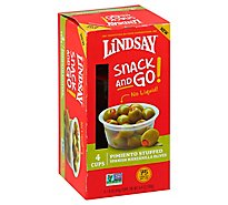 Linday Snck And Go Pmnt Stff Olv Cup - 6.4 Oz