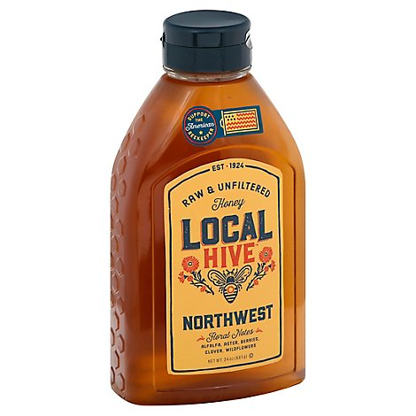 Local Hive Honey Raw & Unfiltered Northwest - 24 Oz