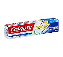 Colgate Total SF Toothpaste Paste Advanced Whitening - 5.1 Oz