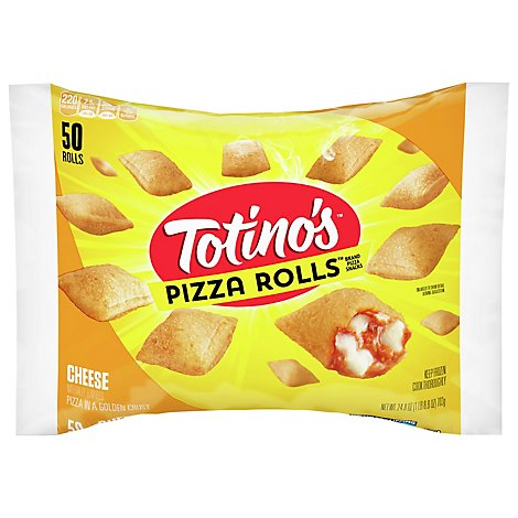 Totinos Pizza Rolls Cheese 50 Count - 24.8 Oz
