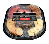 Genoa Salame White Cheddar Cheese Dark Chocolate Prosciutto Garlic & Herb Toasted Rounds - Each