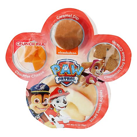 Paw Patrol Apple Cheese Caramel Snacks - 5.58 Oz