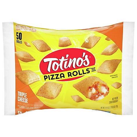 Totinos Pizza Rolls Triple Cheese - 24.8 Oz