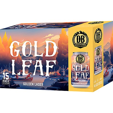 Devils Backbone Gold Leafin Cans - 15-12 Fl. Oz.