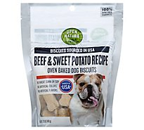 Open Nature Dog Biscuits Beef & Sweet Potato - 12 Oz