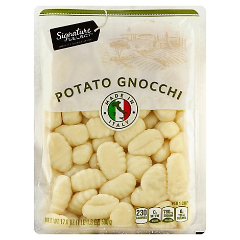 Signature Select Potato Gnocchi - 17.6 Oz
