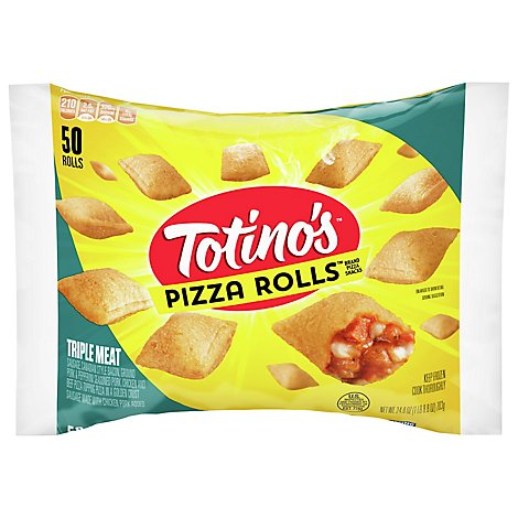 Totinos Pizza Rolls Triple Meat - 24.8 Oz