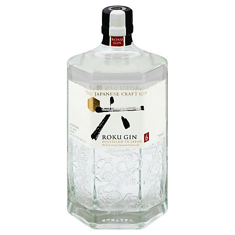 Suntory Roku Gin 86 Proof - 750 Ml