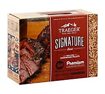 Traeger Signature Blend Wood Pellets - 10 Lb