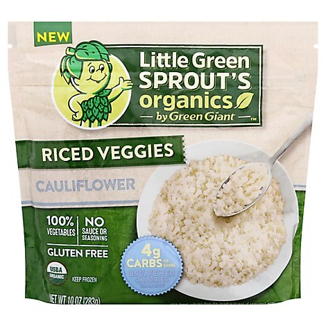 Green Giant Little Green Sprout Organic Cauliflower Riced Veggie - 10 Oz