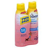 Coppertone Water Babies Lotion Spray SPF 50 - 2-6 Fl. Oz.