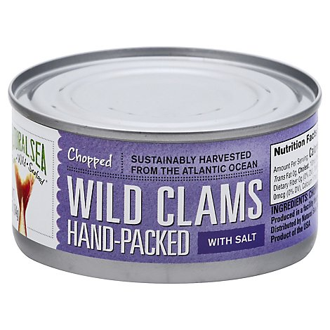 Natural Se Clam Chopped - 6 Oz