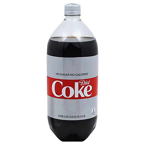 Diet Coke Soda Pop Cola - 3 Liter