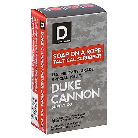Duke Cannon Soap On A Rope Tactical Pouch - Each