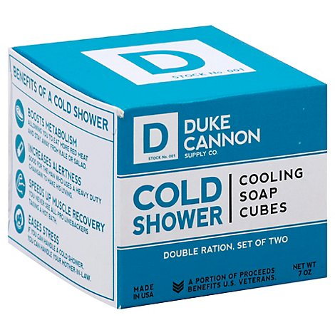 Duke Cannon Cold Shower Cooling Cubes - Each