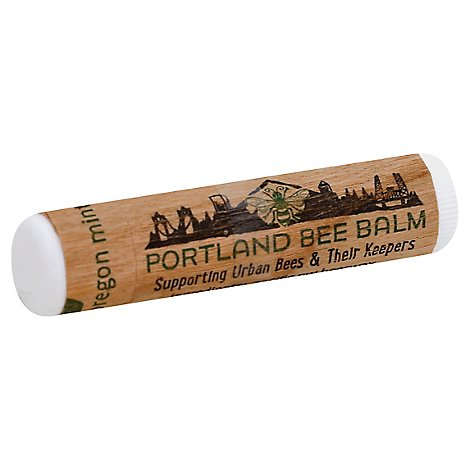 Portland Bee Balm Lip Balm Mint - .15 Oz