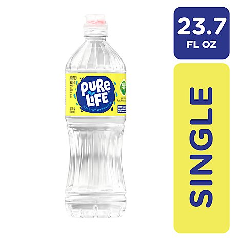 Nestle Pure Life Purified Water - 23.7 Fl. Oz.