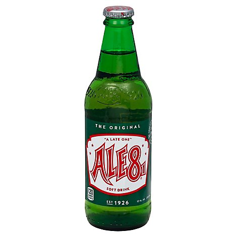 Ale 8-One From Winchester Ky - 12 Fl. Oz.