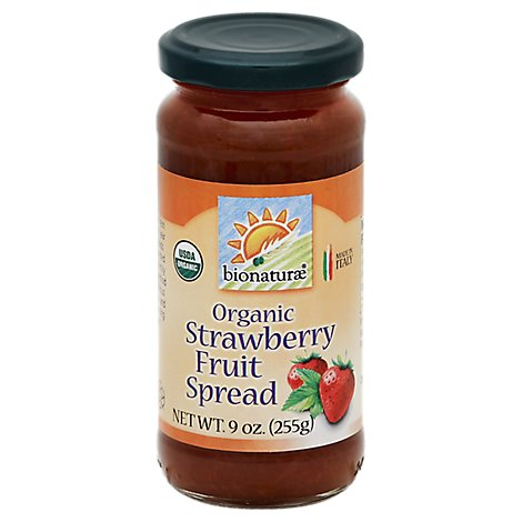 Bionaturae Fruit Spread Organic Strawberry - 9 Oz