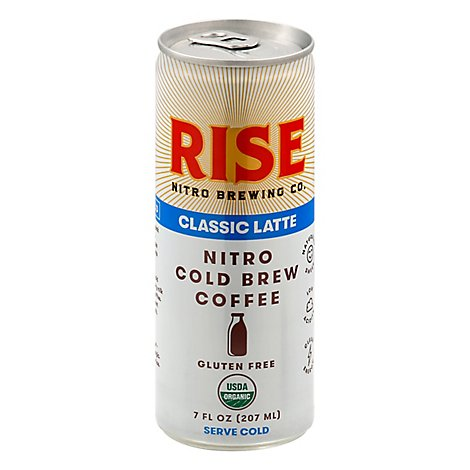 Classic Nitro Cold Brew Latte - 7 Oz