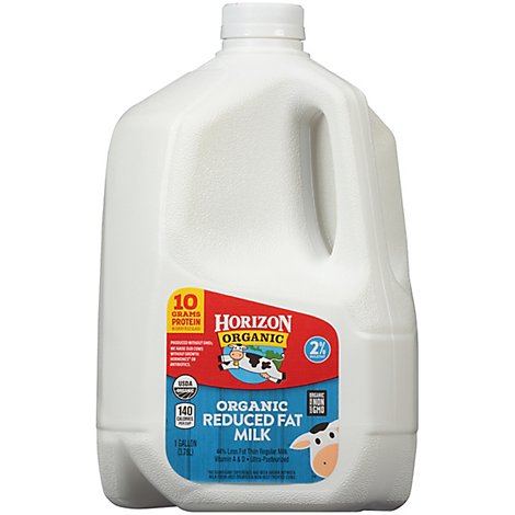 Horizon Organic 2% Reduced Fat Milk 1 Gallon - 128 Fl. Oz.