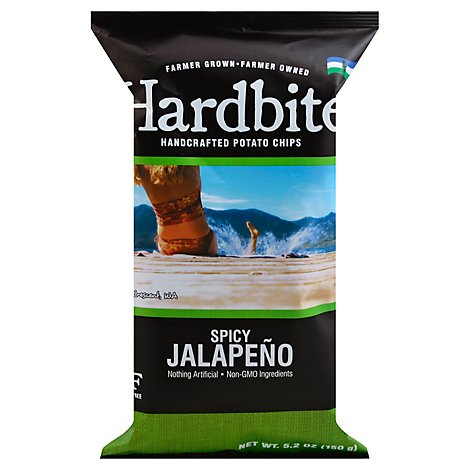 Hardbite Potato Chips Jalapeno - 150 Gram