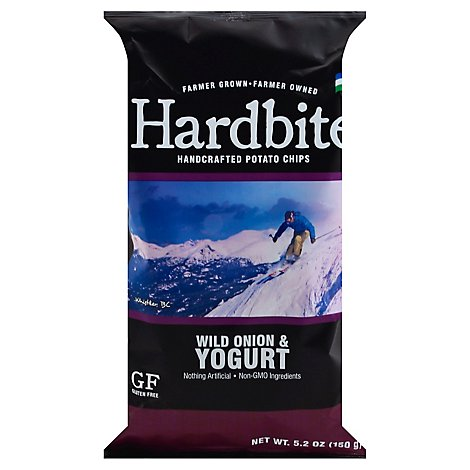Hardbite Potato Chips Wild Onion & Yogurt - 150 Gram