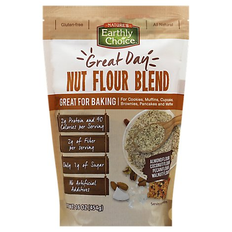 Natures E Flour Nut Blend - 16 Oz