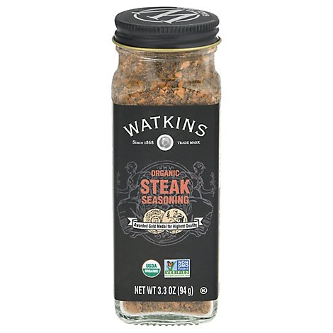 Watkins Seasoning Steak Org - 3.9 Oz