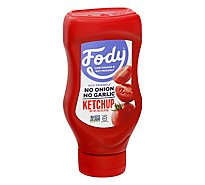 FODY Ketchup Tomato Low Fodmap - 16.8 Oz